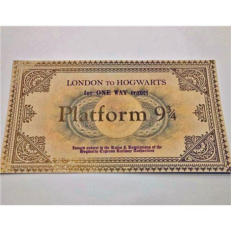Ticket Hogwarts Express - Harry Potter