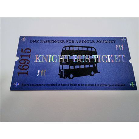 Ticket Autobus Noctambulo - Harry Potter