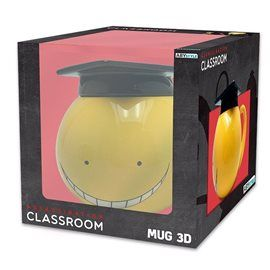 Taza 3D con Tapa Assassination Classroom