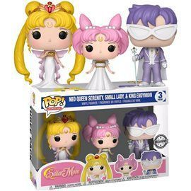 Funko Pop! - Neo Queen Serenity, Small Lady & King Endymion Exclusive