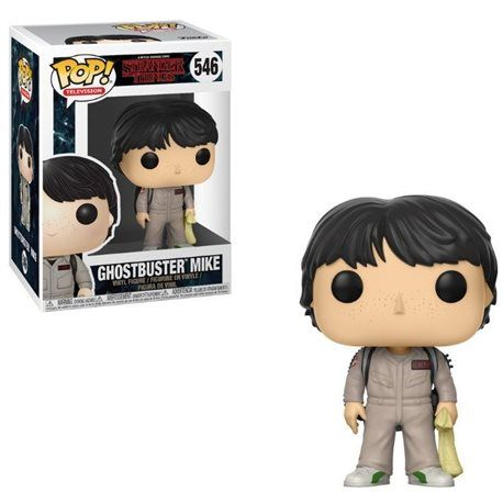 Funko Pop! - Mike Ghostbuster Figura 10cm