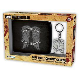 Pack Cartera + Llavero Metálico The Walking Dead