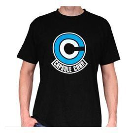 Camiseta Dragon Ball - Capsule Corp