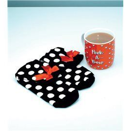 Pack Taza + Calcetines Minnie Mouse
