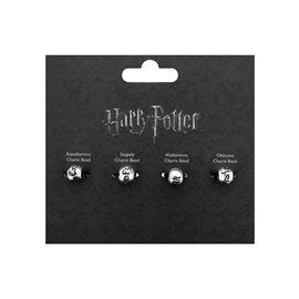 Set 4 Charms Abalorios - Harry Potter