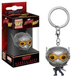 Funko Pop! Llavero The Wasp - Ant Man 4cm