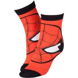 Calcetines Spider-Man Mascara Talla 43-46