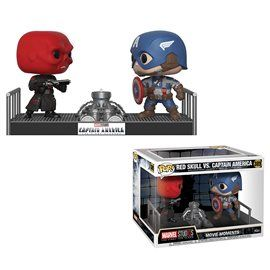 Funko Pop! - Red Skull vs Captain America - Movie Moment