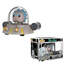 Funko Pop! - Rick's Ship - Edición Limitada