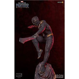 Killmonguer - Black Panther - Iron Studios Figura 27 cm