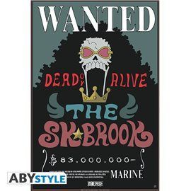 Poster One Piece - Wanted SK Brook