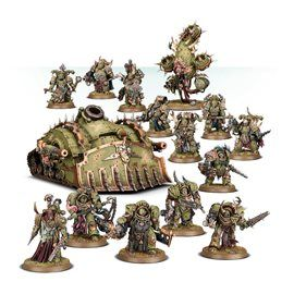 Death Guard Infection Cluster