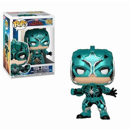 Funko Pop! Yon-Rogg - Captain Marvel Figura 10cm