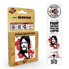Set Posavasos The Walking Dead