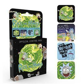 Set Posavasos Rick & Morty