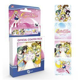 Set Posavasos Sailor Moon