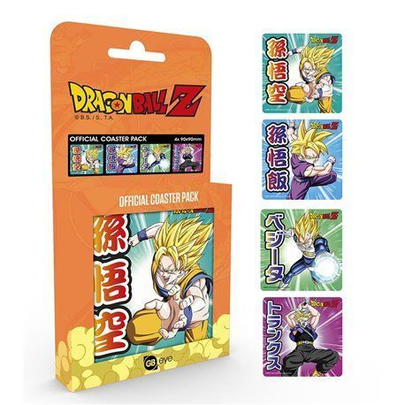 Set Posavasos Dragon Ball
