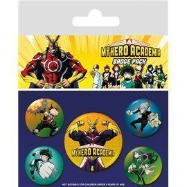 Set de Chapas My Hero Academia