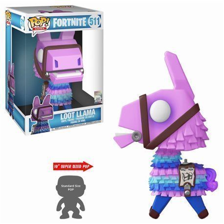 Funko Pop! Loot Llama Super Sized 10' - Fortnite Figura 10cm