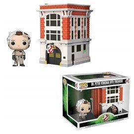 Funko Pop! - Dr. Peter Venkman with Firehouse