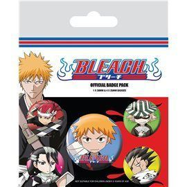 Set de Chapas Bleach