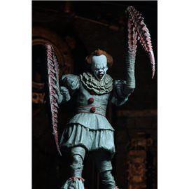 Figura Pennywise Ultimate Dancing Clown It Neca 1/10 20 cm