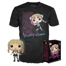 Funko Pop! & Tee - Britney Spears Baby One More Time - Figura Exclusive 10cm