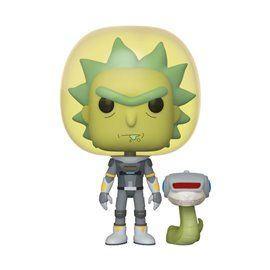 Funko Pop! - Space Suit Rick with Snake Figura 10 cm