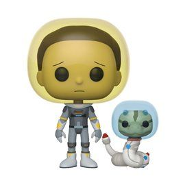 Funko Pop! - Space Suit Morty with Snake Figura 10 cm