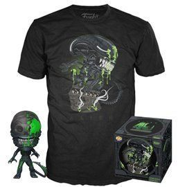 Funko Pop! & Tee - Xenomorph - Alien - Exclusive 10cm