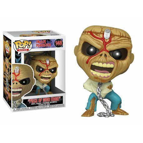 Funko Pop! - Piece of Mind Eddie - Iron Maiden Figura 10cm