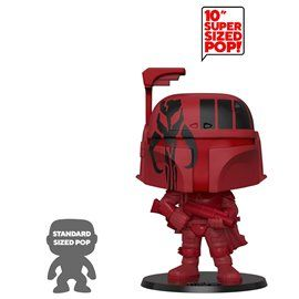 Funko Pop! - Boba Fett (Red) - Star Wars Super Sized 10""