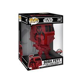 Funko Pop! - Boba Fett (Red) - Star Wars Super Sized 10