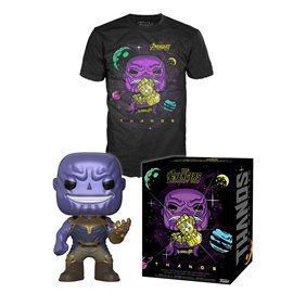 Funko Pop! & Tee - Thanos - Avengers - Exclusive 10cm