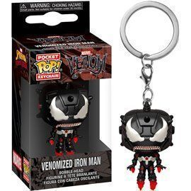 Funko Pop! Llavero Venomized Iron Man - 4cm