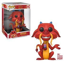 Funko Pop! Mushu - Mulan - Super Sized 10' - Disney Figura 25cm