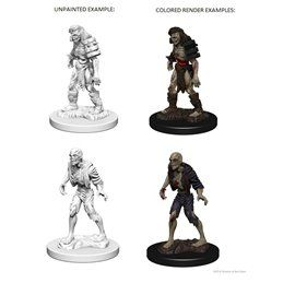 Zombies - Miniatura Dungeons and Dragons