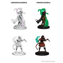 Tiefling Sorceror Female - Miniatura Dungeons and Dragons