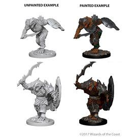 Dragonborn Fighter - Miniatura Dungeons and Dragons